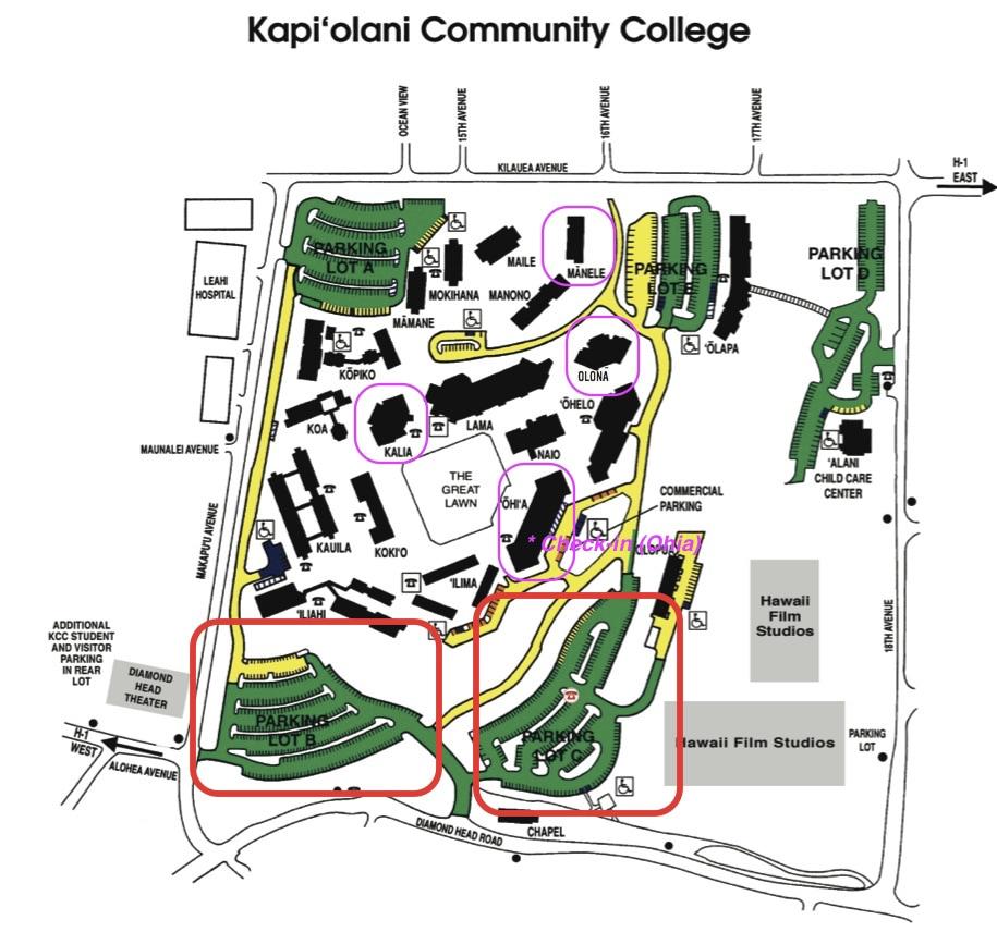 Kapiolani Community College Map Kapiolani Community College Map   compressportnederland Kapiolani Community College Map